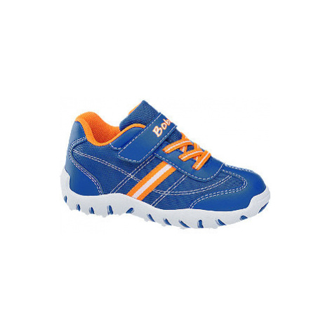 Modré tenisky na suchý zips Bobbi Shoes Bobbi-Shoes