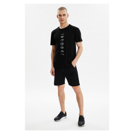 Trendyol Black Men's Regular Fit Tracksuit Set