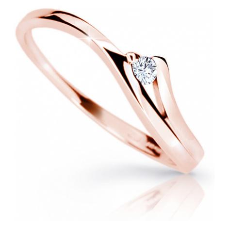 Cutie Jewellery Krásny zásnubný prsteň Z6818-1718-10-X-4 mm