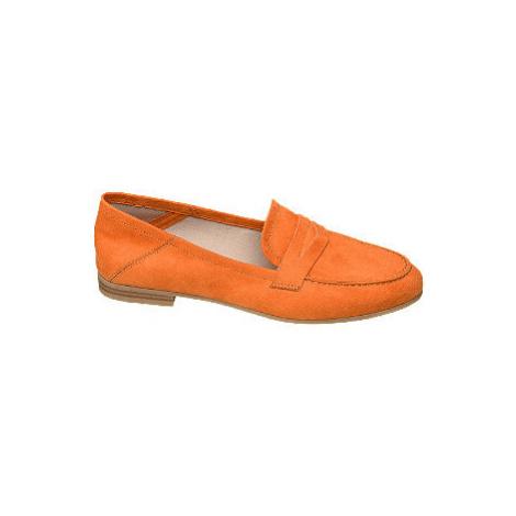 Oranžové mokasíny Graceland