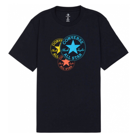 Converse M Triple Chuck Patch Ss Tee-XL čierne 10020529-A01-XL