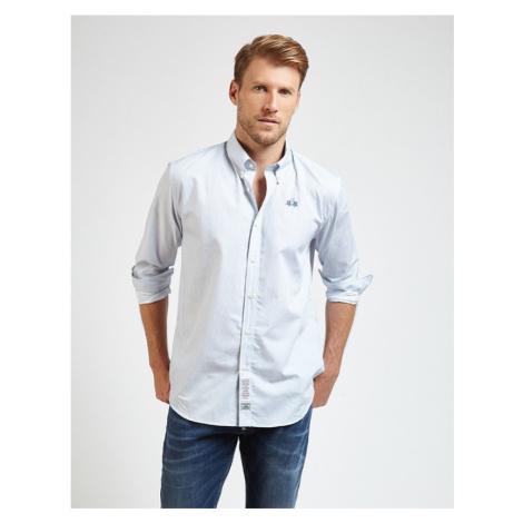 Košeľa La Martina Man Shirt L/S Popeline Printed