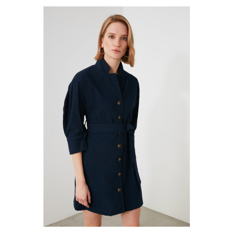 Trendyol Navy Belt Dress