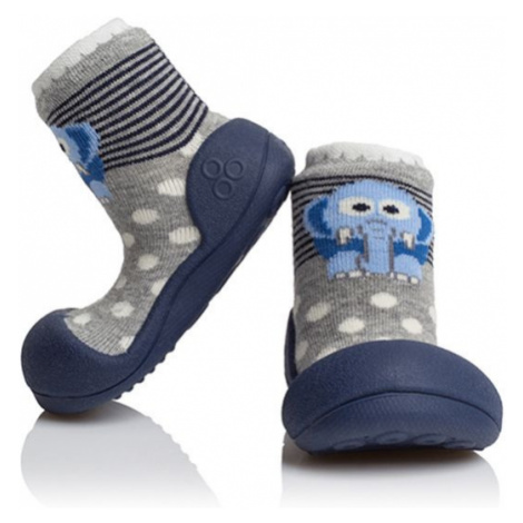ATTIPAS Detské topánočky ZOO Navy