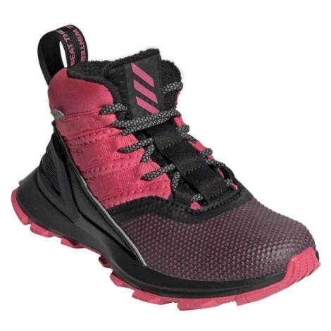 adidas RAPIDARUN ATR BTW K ružová - Detská voľnočasová obuv