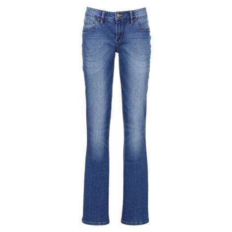 Strečové džínsy s opaskom, BOOTCUT bonprix