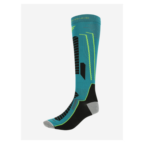 Ponožky 4F Somn101 Ski Socks Zelená