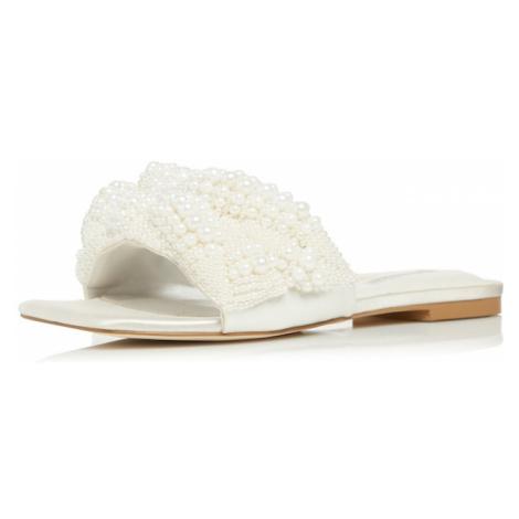 Dune LONDON Šľapky 'NOVALEE'  biela / perlovo biela