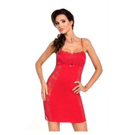 Nočná košieľka Donna Brigitte II Red Červená