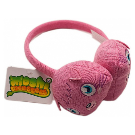 Moshi monsters ružové slúchadlá