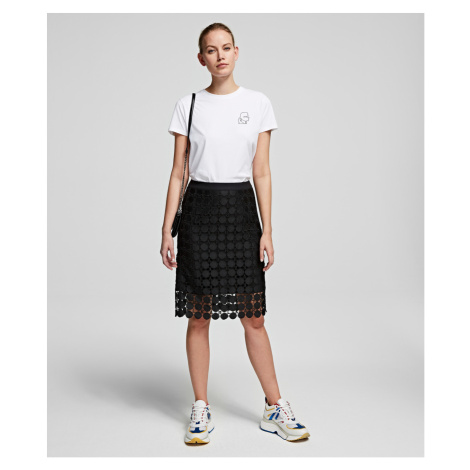 Sukňa Karl Lagerfeld Karlcircle Lace Skirt