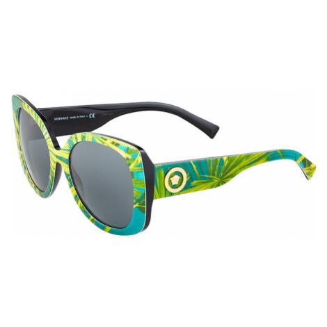 VERSACE Slnečné okuliare  svetlozelená / nefritová / tmavosivá / zlatá