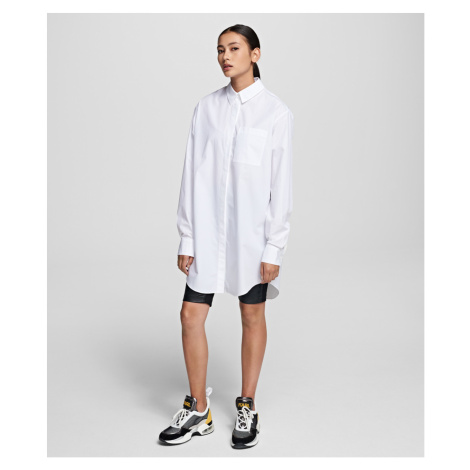 Košeľa Karl Lagerfeld Embellished Cotton Shirt