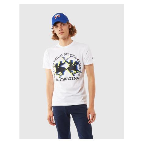 Tričko La Martina Man Tshirt S/S Jersey