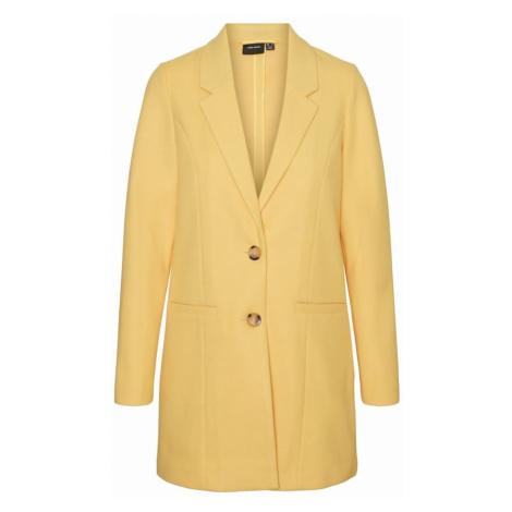 VERO MODA Prechodný kabát 'VMDAFNEJANEY'  žltá