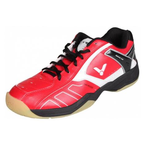 SH-A310 halová obuv barva: červená-černá;velikost (obuv / ponožky): UK 10 Victor