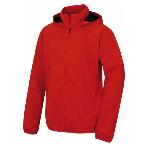 Husky Sally červená, Pánska softshellová bunda