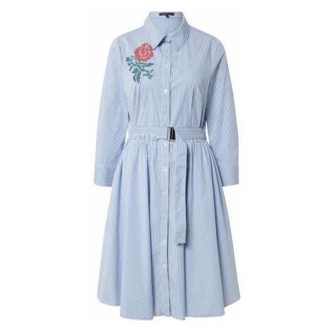 APART Šaty  modrá / biela