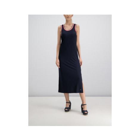 Tommy Hilfiger Každodenné šaty Carmen WW0WW25367 Tmavomodrá Regular Fit