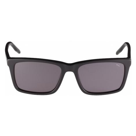 PUMA Slnečné okuliare 'PJ0040S'  sivá / čierna