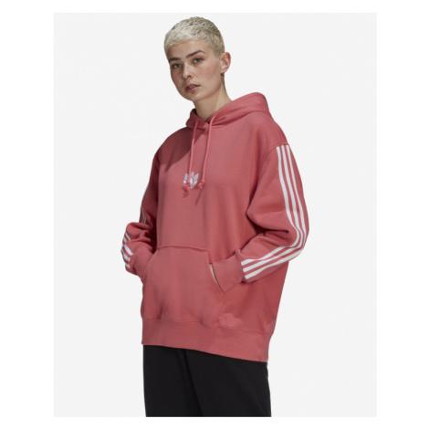 adidas Originals Loungewear Adicolor 3D Trefoil Oversize Mikina Ružová