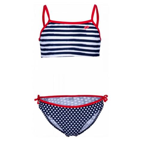 Lotto LYRA modrá - Dievčenské dvojdielne plavky