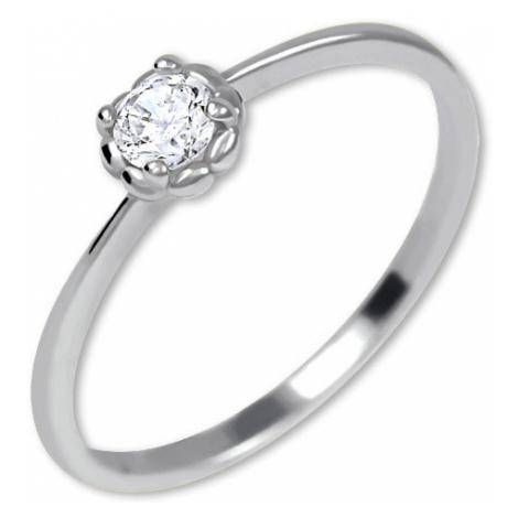 Brilio Nežný zásnubný prsteň zo zlata 001 07 mm
