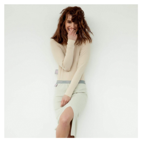 #mblm Collection krátká sukňa – béžová LUKAS MACHACEK