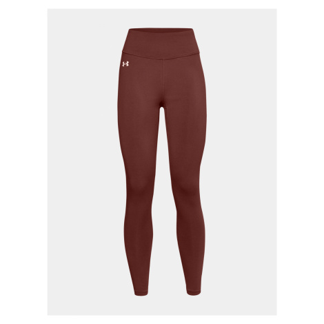 Legíny Under Armour UA Favorite Legging Hi Rise - cihlová