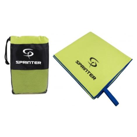 Sprinter UTERÁK Z MIKROVLÁKNA 70x140CM zelená - Športový uterák z mikrovlákna