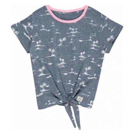 PROTEST Funkčné tričko 'CAMRON'  modrosivá / biela / ružová