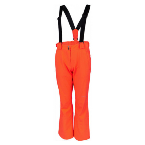 ALPINE PRO ARGA ružová - Dámske lyžiarske nohavice