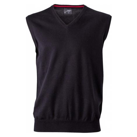 James & Nicholson Pánsky sveter bez rukávov JN657