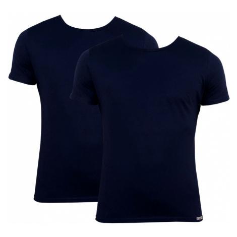 2PACK pánske tričko Styx tmavo modré (TR963)