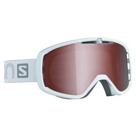 Salomon AKSIUM ACCESS biela - Lyžiarske okuliare
