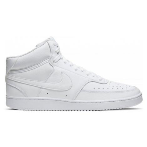Nike COURT VISION MID biela - Pánska obuv