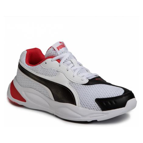 Sneakersy PUMA - 90s Runner 372549 04 Puma White/Puma Black/Red