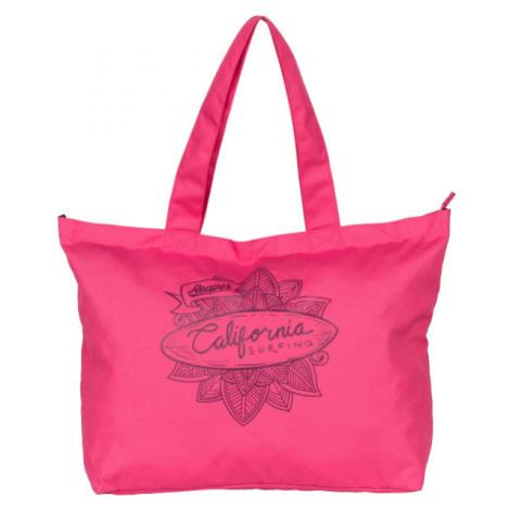 Reaper SHOPBAG ružová - Plážová taška