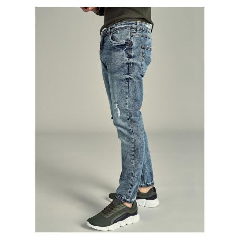 Pánske džínsy Hample modré