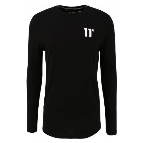 11 Degrees Tričko  čierna / biela