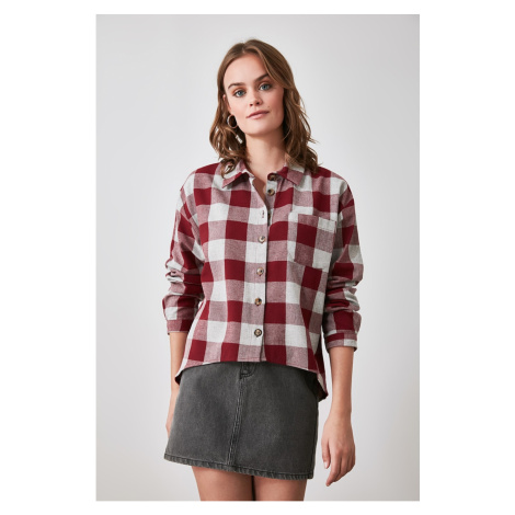 Trendyol Multicolored Checkered Plaid Jacket Shirt