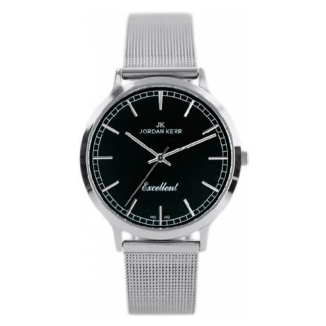 Dámske hodinky v striebornom farebnom prevedení Jordan Kerr S0913-D