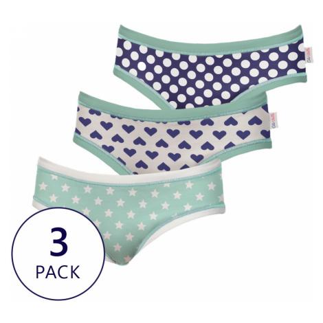 3 PACK dievčenských nohavičiek Funny Cotonella