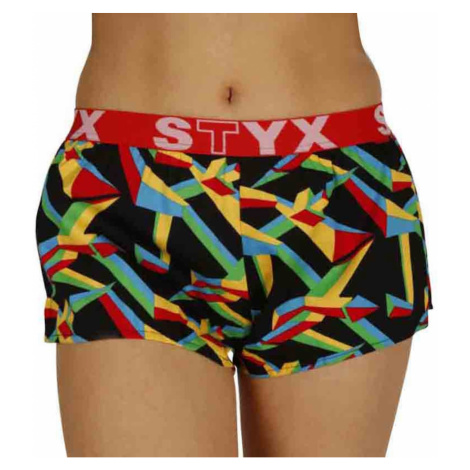 Women's shorts Styx art sports rubber triangular (T957)