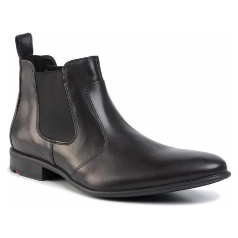 Kotníková obuv s elastickým prvkom LLOYD - Novello 29-703-00 Black