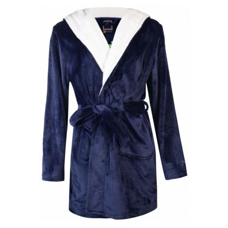 SoulCal Borg Robe Ladies Navy Soulcal & Co