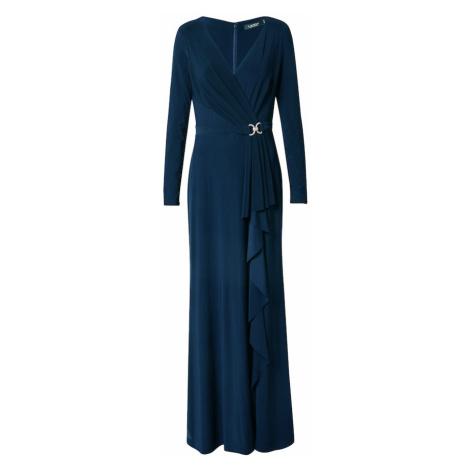 Lauren Ralph Lauren Večerné šaty 'LUANA'  námornícka modrá