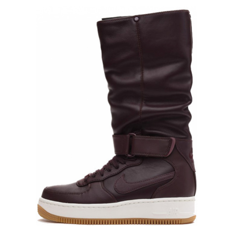Nike WMNS Air Force 1 Upstep Warrior Shoe Deep Burgundy Dark Cayenne 860522-600 - Veľkosť EU:38.