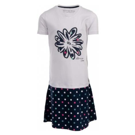 ALPINE PRO THOMASO biela - Dievčenské šaty