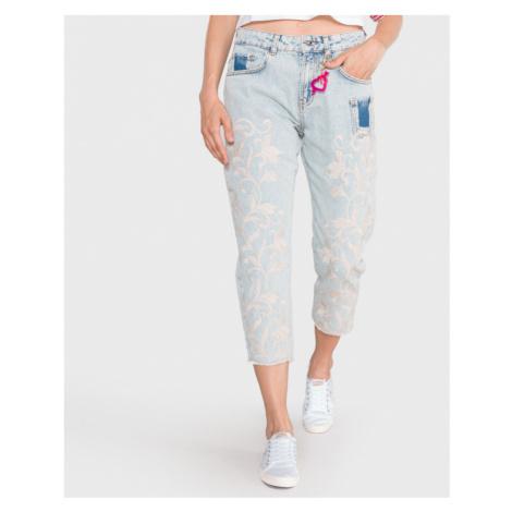 TWINSET Jeans Modrá